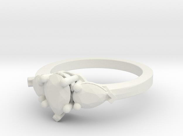 Ring 38 in White Natural Versatile Plastic