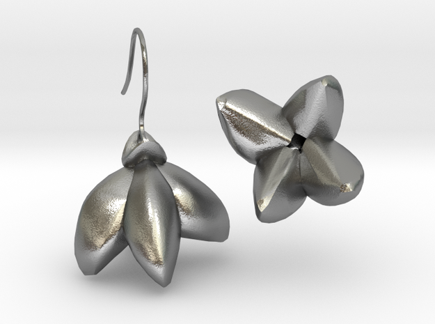 Yagoda Earrings By Inna in Natural Silver