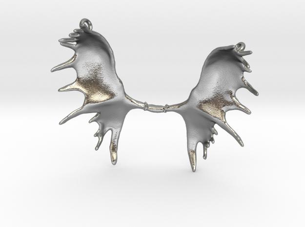 Moose Antler Pendant