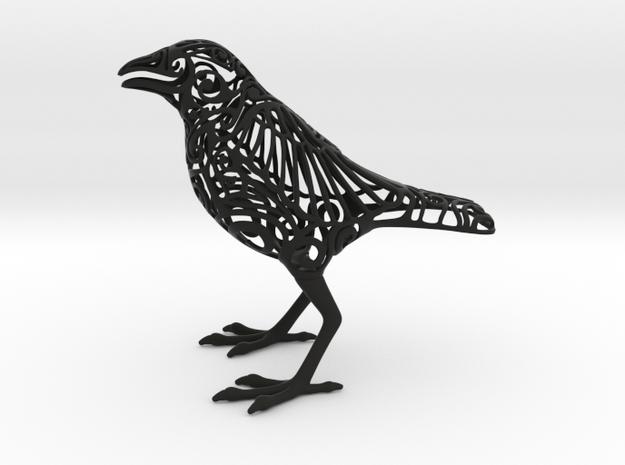 Odin's Raven in Black Natural Versatile Plastic
