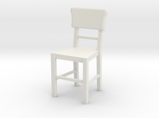 Basic Chair  in White Strong & Flexible