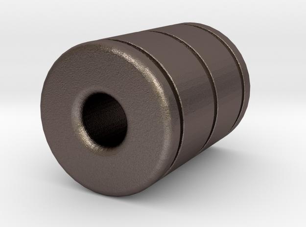 Token -Begleri Bead in Stainless Steel