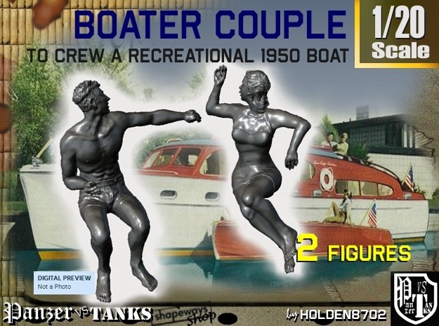 1-20 Recreation Boat Couple Set 2