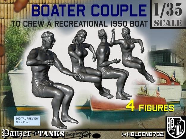 1-35 Recreation Boat Couple Set 1