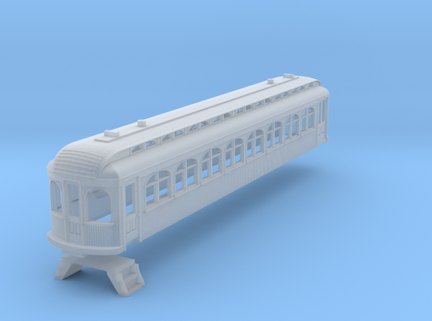 N Scale Texas Traction Co. Coach-RPO 350/351 in Smooth Fine Detail Plastic