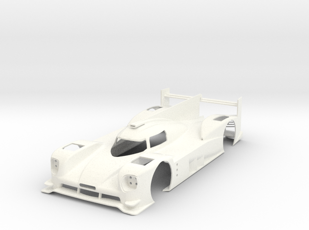 Porsche 919 15 in White Strong & Flexible Polished