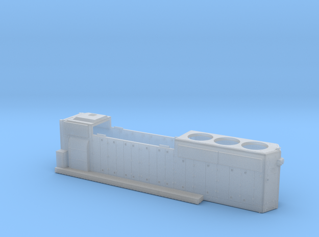 LN6600-6616 GP40-2 HOOD 1/87.1 in Smoothest Fine Detail Plastic