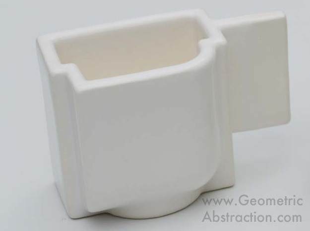 Malevich Teacup 2.0 3d printed