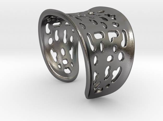 Summer Bracelet in Polished Nickel Steel