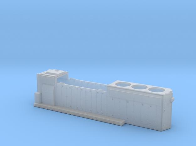 WM4257-4261 GP40-2 HOOD 1/87.1 in Smoothest Fine Detail Plastic