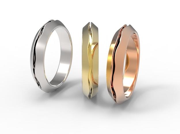 CS03-triangle in Premium Silver
