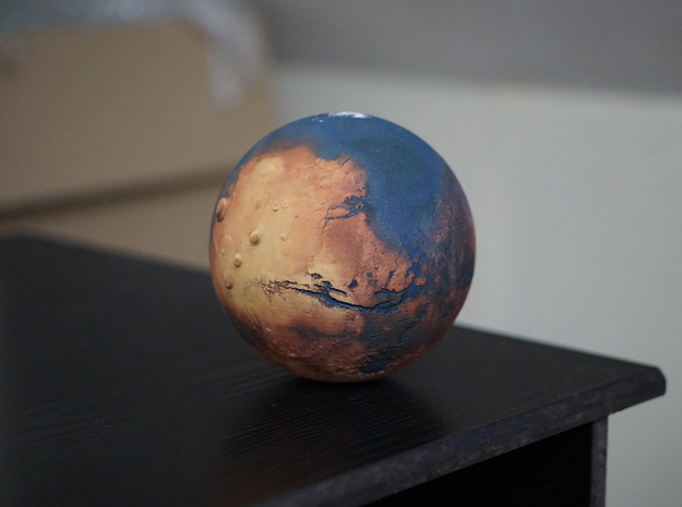 Oceanic Mars in Full Color Sandstone
