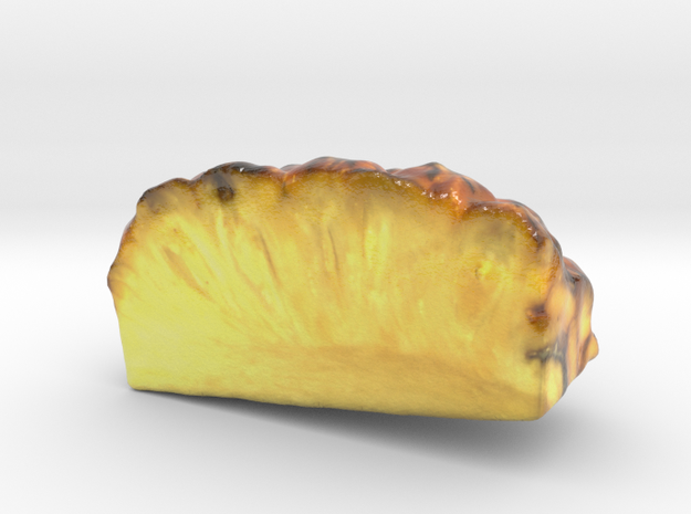 The Pineapple-Quarter-mini in Glossy Full Color Sandstone