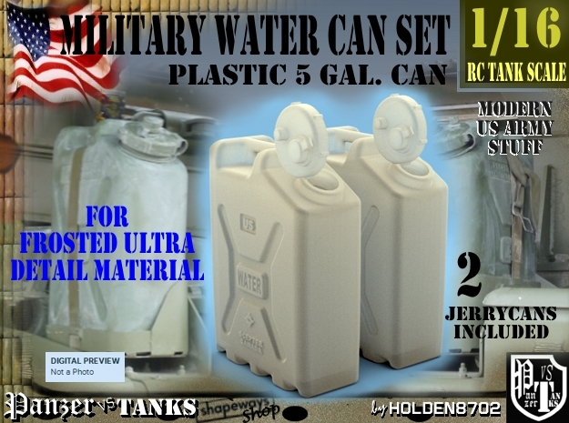 1-16 Military Water Can FUD SET1