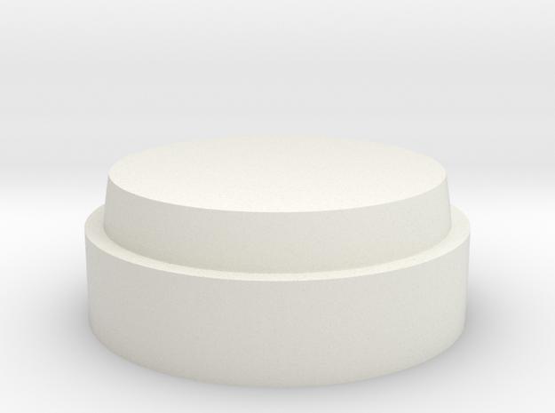 Beemodelcentertop in White Natural Versatile Plastic
