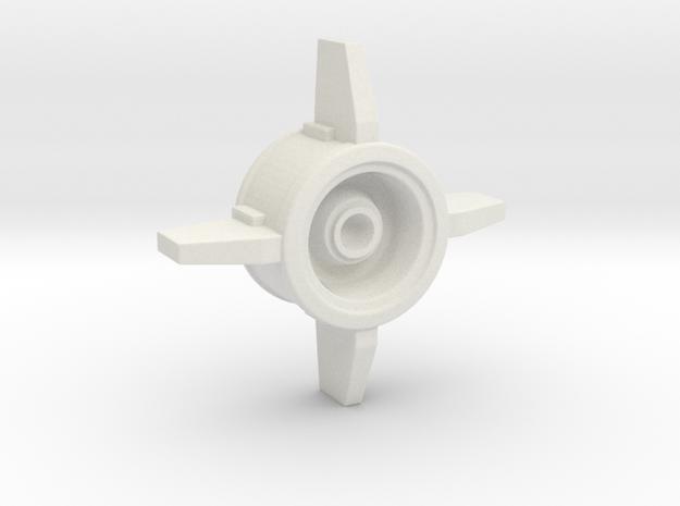 40K IG Manticore Missile Bottom in White Natural Versatile Plastic