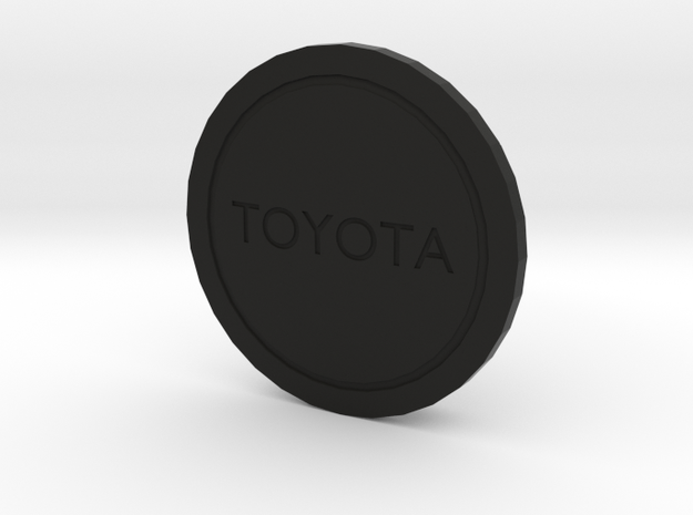 Toyota wheel cover cap in Black Natural Versatile Plastic