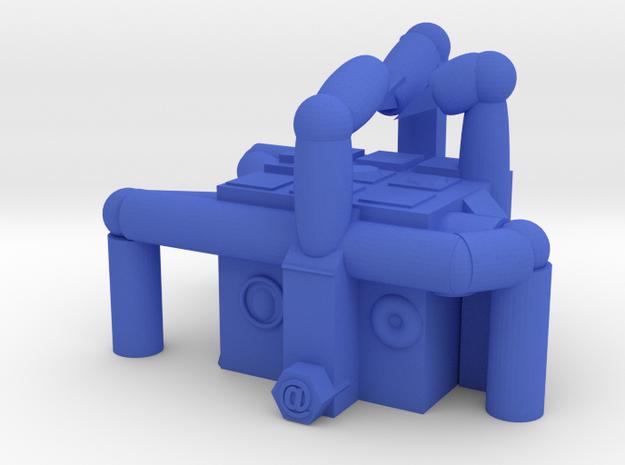 CRAFTING FUTURE in Blue Processed Versatile Plastic