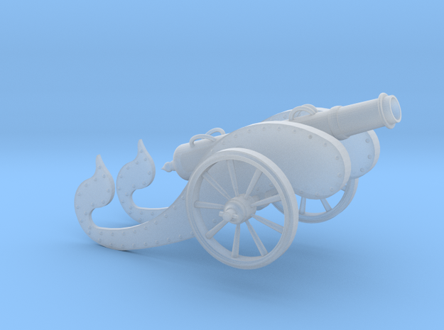 """Ancient Cannon   3 1/4"""" in Frosted Ultra Detail"""