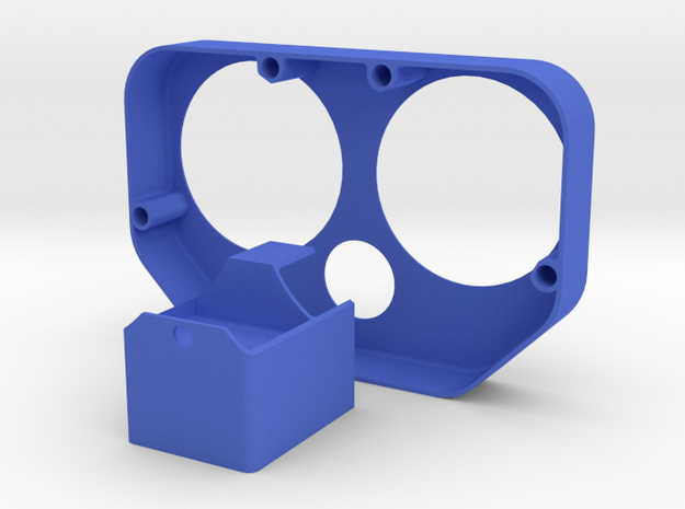 NTGA-02 Cover Set in Blue Strong & Flexible Polished