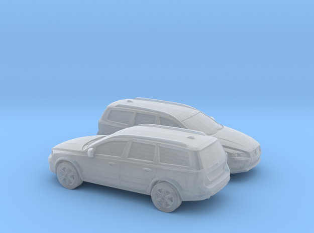 1/120 2X 2015 Volvo XC 70 in Smooth Fine Detail Plastic