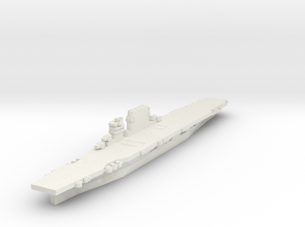 USS Saratoga (1943) 1/2400 in White Strong & Flexible