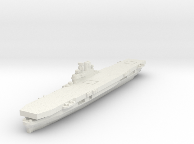 USS Wasp 1/2400 in White Strong & Flexible