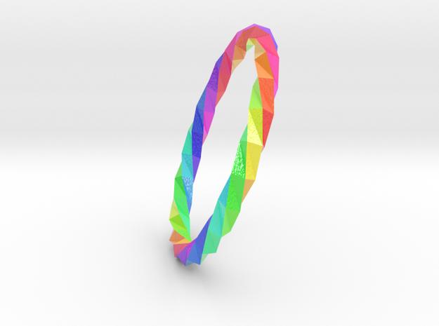 Twistium - Bracelet P=200mm Color in Glossy Full Color Sandstone