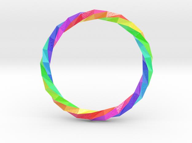 Twistium - Bracelet P=230mm Color in Glossy Full Color Sandstone