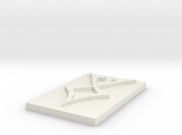 Faery Protection Rune 3d printed