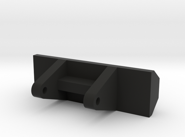Axle Support for 1/53rd scale Blue Bird Busses in Black Natural Versatile Plastic