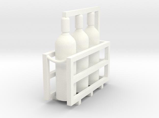 Welding & Gas High Pressure Cylinders In Rack 1-87