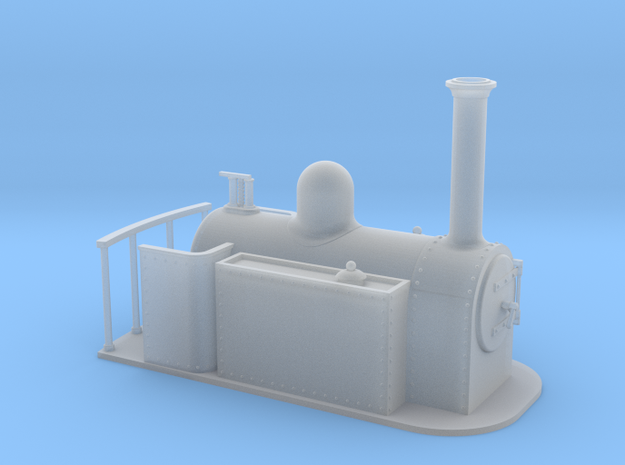 Gn15 large side tank  3d printed