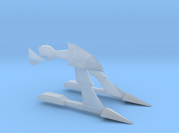 1/2500 Bad Kitty Frigate 3d printed