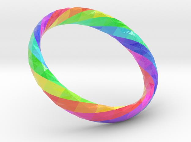 Twistium - Bracelet P=180mm h15 Color in Glossy Full Color Sandstone