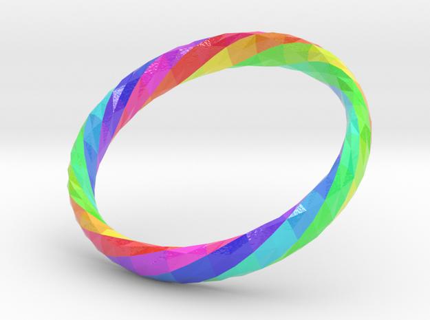 Twistium - Bracelet P=210mm h15 Color in Glossy Full Color Sandstone