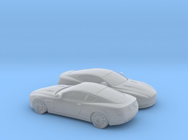 1/148 2X 2004-08 Aston Martin DB9 in Smooth Fine Detail Plastic