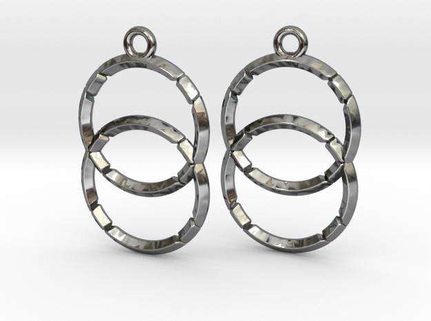 VESICA PISCIS (earrings) in Premium Silver