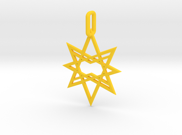 Double Octagon Star Pendant