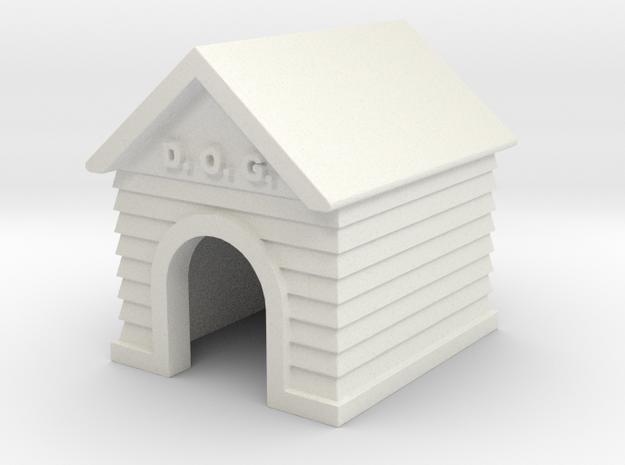 Doghouse - 'O' 48:1 Scale
