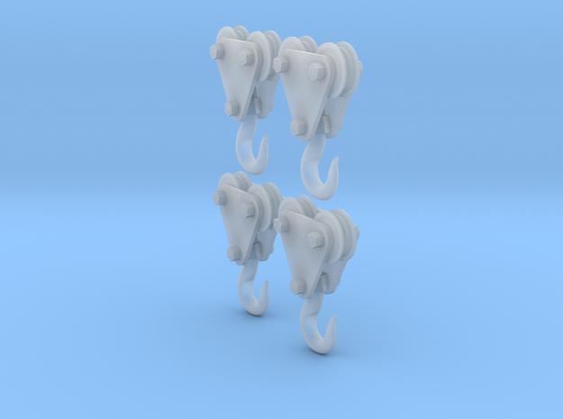 4 - 1/35 Crane Hooks