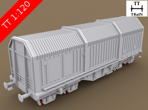 TT Scale Shimms Wagon complete set (EU)