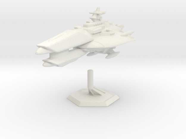 Star Sailers - Venygar - Cruiser in White Natural Versatile Plastic