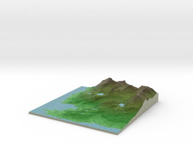 Terrafab generated model Sun Apr 24 2016 09:58:01  in Full Color Sandstone