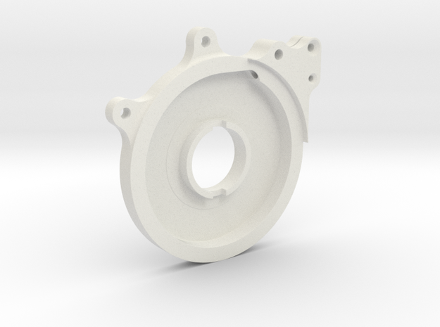 Spitfire Throttle Quadrant Control plate,Rotol in White Strong & Flexible