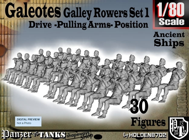 1-80 Galley Rower-Drive-Set 1