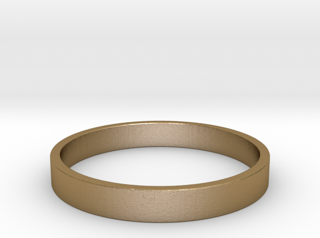 Basic US 10 in Polished Gold Steel