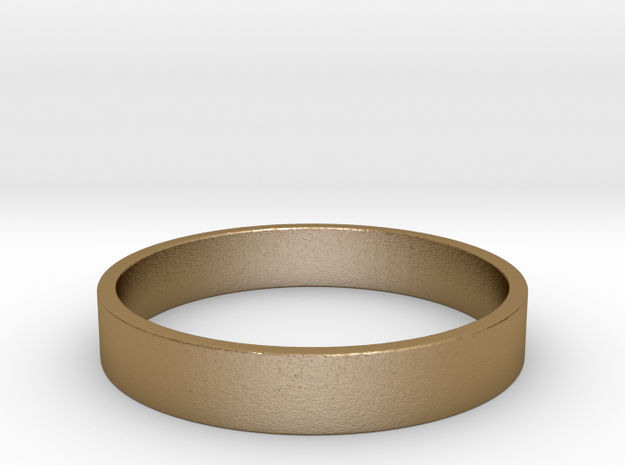 Basic US  11 in Polished Gold Steel