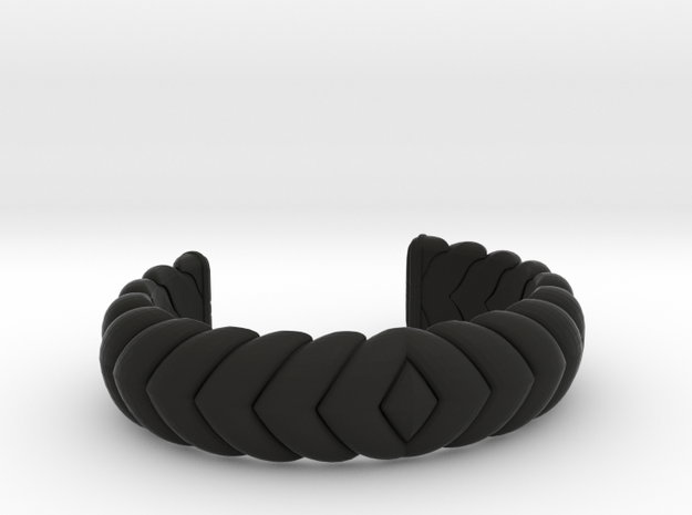 V CUFF 2016 MEDIUM in Black Natural Versatile Plastic