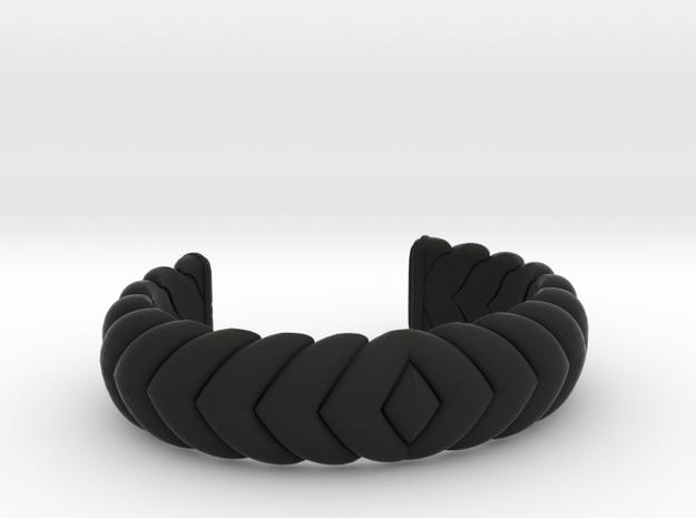 V CUFF 2016 MEDIUM in Black Natural Versatile Plastic